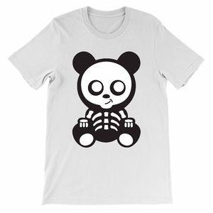Skelton Panda Halloween shirt